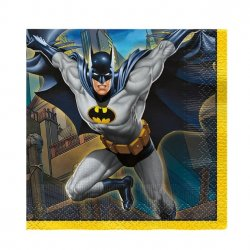 Batman Servetter Liten 16-pack