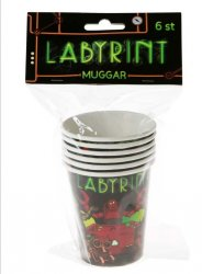 Labyrint Muggar 6-pack