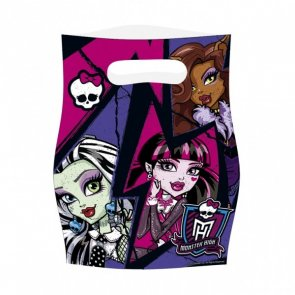 Monster High 2, kalaspåsar 6-pack