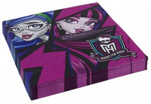 Monster High 2, servetter 20-pack