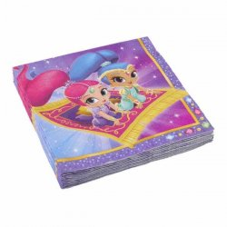 Shimmer & Shine Servetter 20-pack