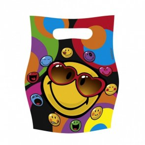 Smiley cool, kalaspåsar 6-pack