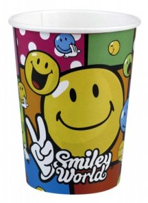Smiley, muggar 8-pack