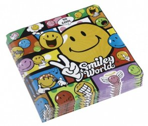 Smiley, servetter 20-pack