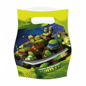 Turtles, kalaspåsar 6-pack