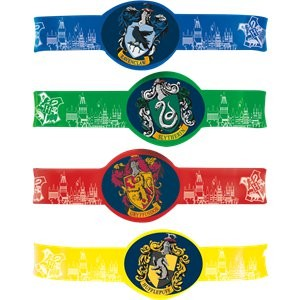 Harry Potter Kalasarmband 4-pack