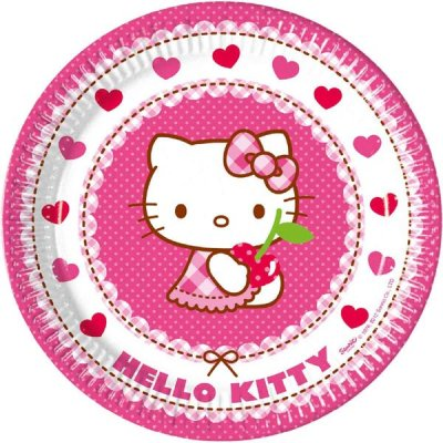 Hello Kitty tallrikar 8-pack