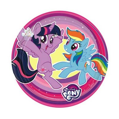 My Little Pony Assietter 8-pack