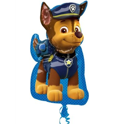 Paw Patrol Chase Formad Folieballong