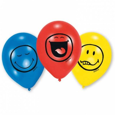 Smiley cool ballonger 6-pack