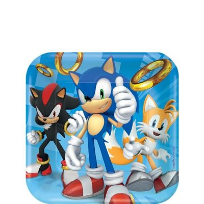 Sonic Assietter 8-pack