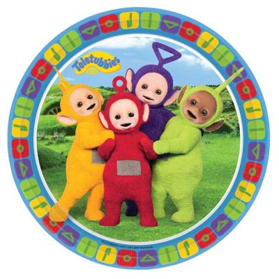 Teletubbies Assietter 8-pack