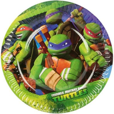 Turtles Assietter 8-pack